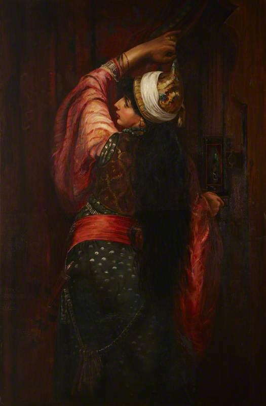 An Oriental Woman: Fatima