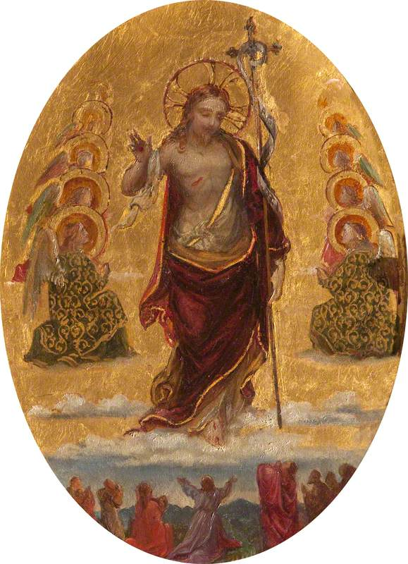 The Risen Christ (The Ascension)