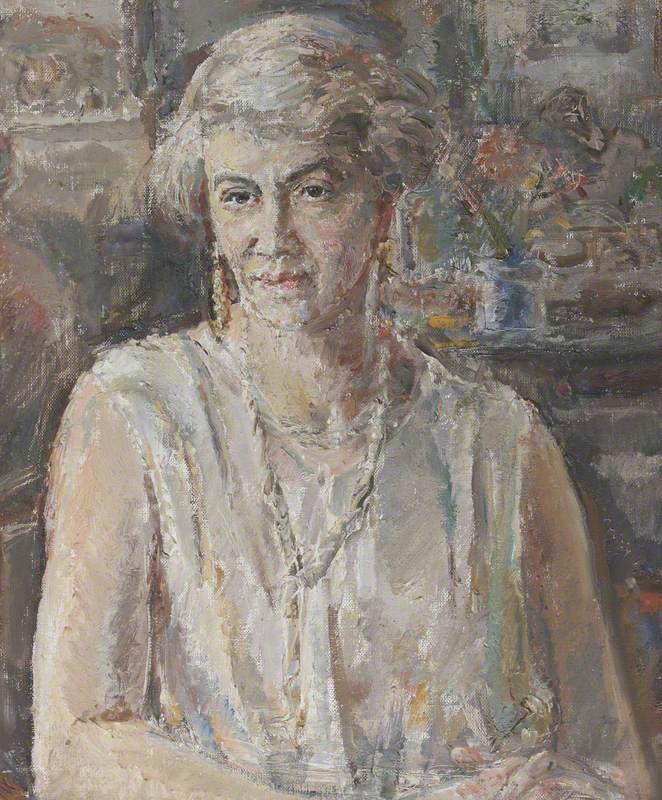 Annie Theodosia Wilson (1867/1868–1950), Mrs Charles Francis Benthall