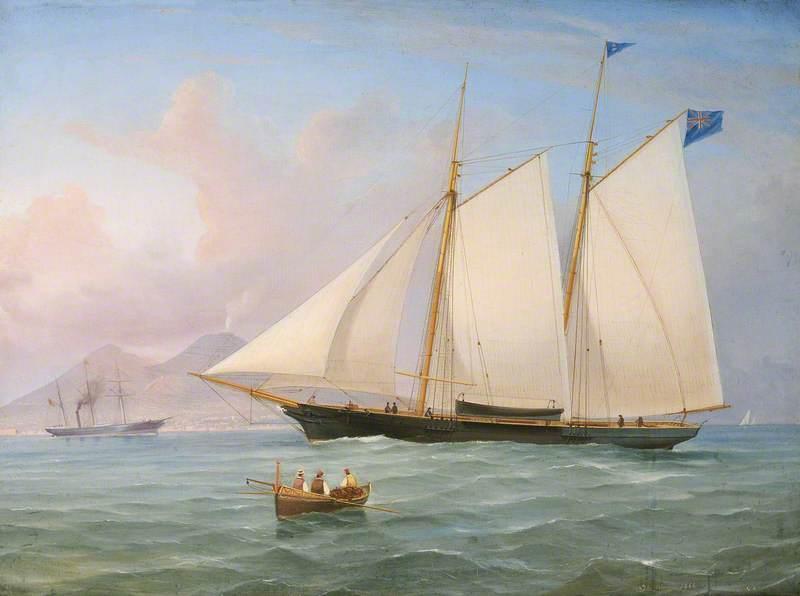 The Yacht 'Diadem'