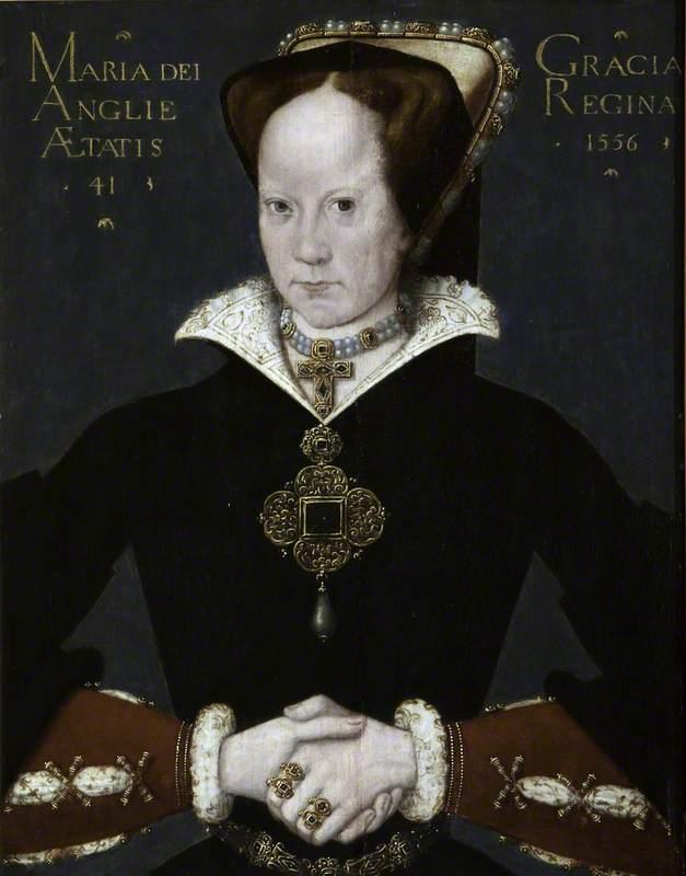 Mary I (Mary Tudor) (1516–1558), Aged 41