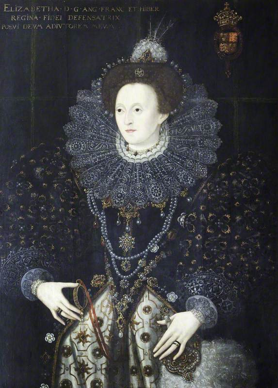 Elizabeth I (1533–1603), with a Miniature Sieve