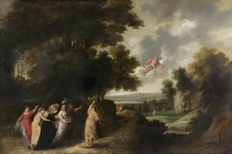 Mercury, Herse and Aglauros