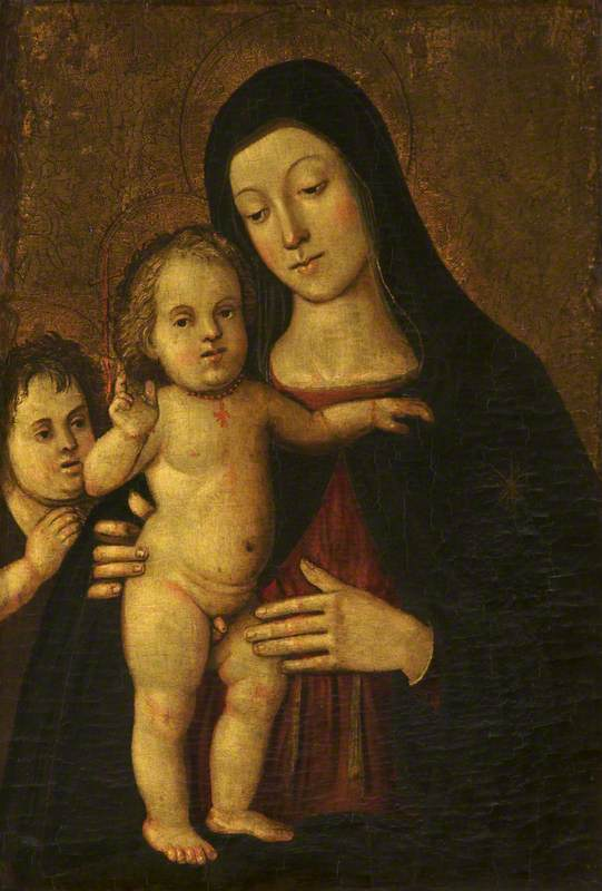 The Madonna and Child with the Infant Saint John