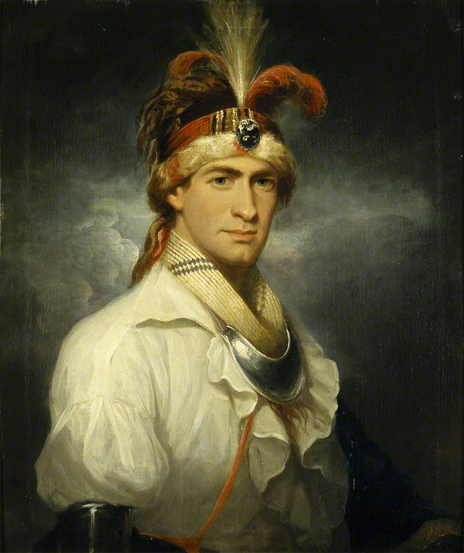 William Augustus Bowles (1763–1805), as a Native North American (Creek) Chief