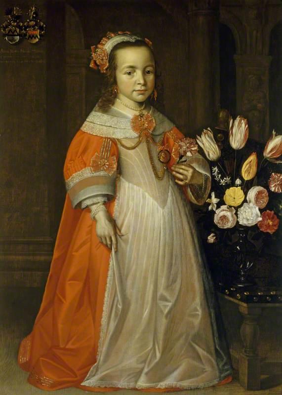 Anna Maria Siedonia Mockels (1624–1650), as a Child