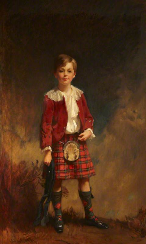 Edward Charles Stewart Robert Vane-Tempest-Stewart (1902–1955), Lord Stewart, Later 8th Marquess of Londonderry, as a Boy