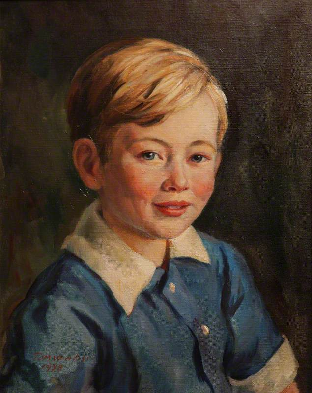 John Mander (1932–1978), as a Boy