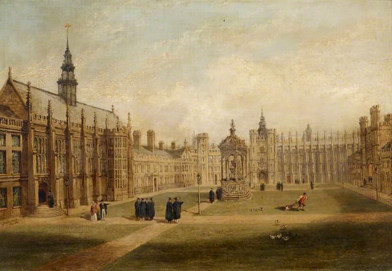 The Great Court of Trinity College, Cambridge