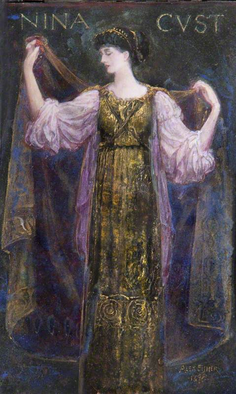 Emmeline 'Nina' Mary Elizabeth Welby-Gregory (1867–1955), Mrs Henry John Cockayne-Cust