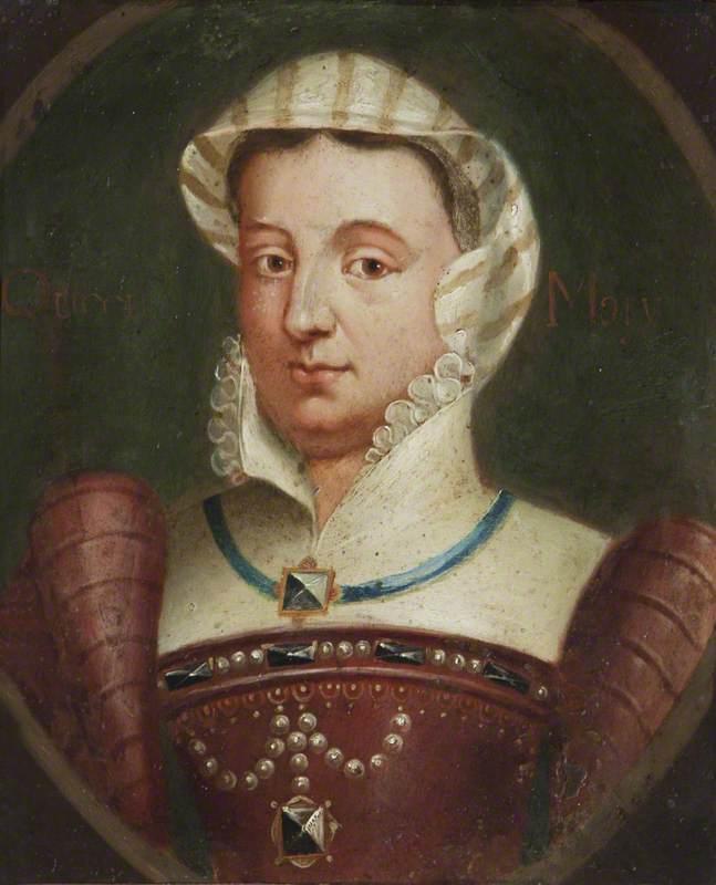 Imaginary Portrait of Mary I (1516–1558) (Mary Tudor)