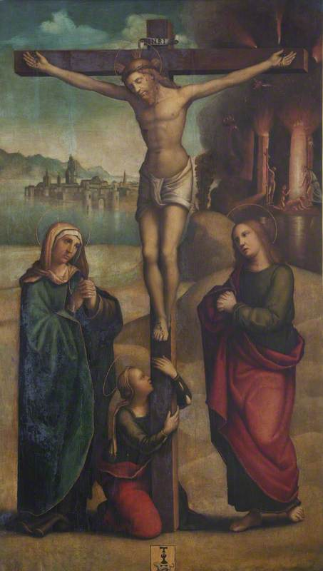 The Crucified Christ, with the Virgin Mary, Saint John the Evangelist, and the Magdalen