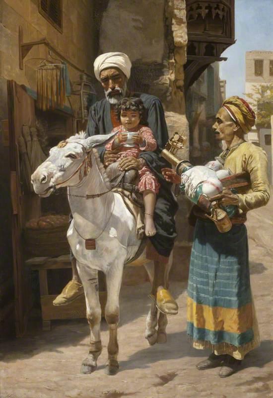 The Water Seller (A Cairo Street)
