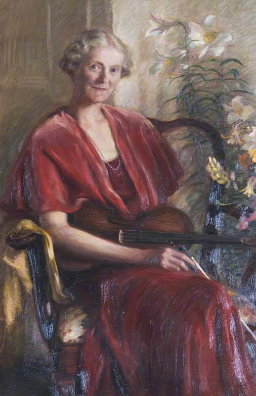 Diana Langton (1872–1963), Lady Montgomery-Massingberd