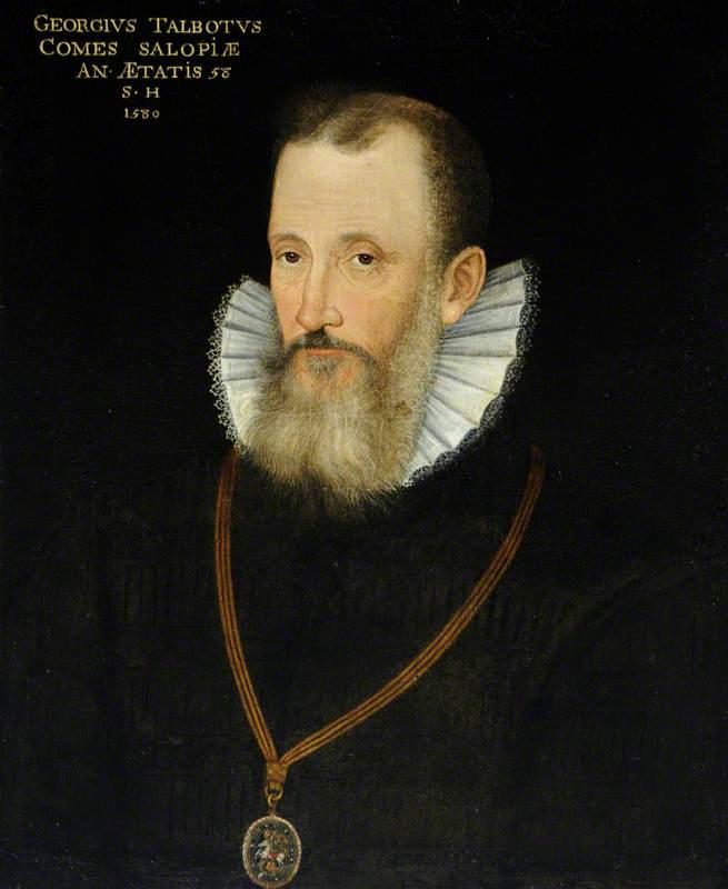 George Talbot (1528–1590), 6th Earl of Shrewsbury