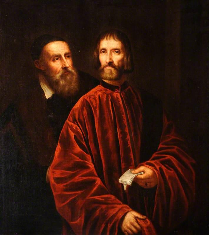 Titian (c.1488–1576), and Andrea de' Franceschi (d.1551), Grand Chancellor of Venice