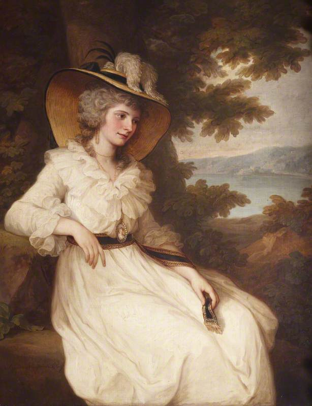 Lady Elizabeth Christiana Hervey (1759–1824), Lady Elizabeth Foster, Later Duchess of Devonshire