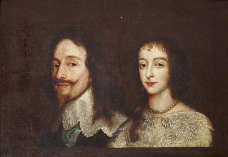 Charles I (1600–1649), and Queen Henrietta Maria (1609–1669)