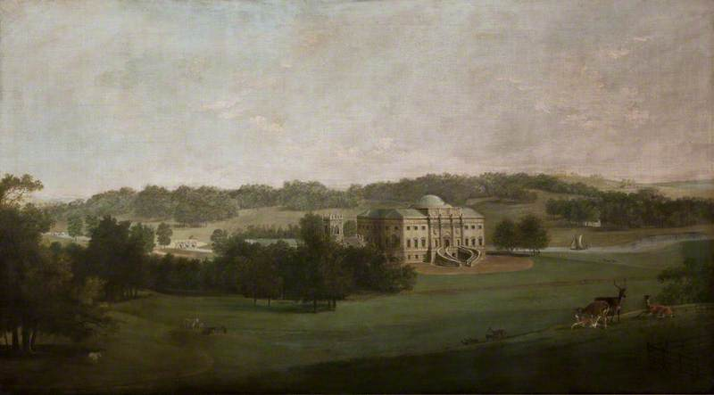 Kedleston Hall from the South