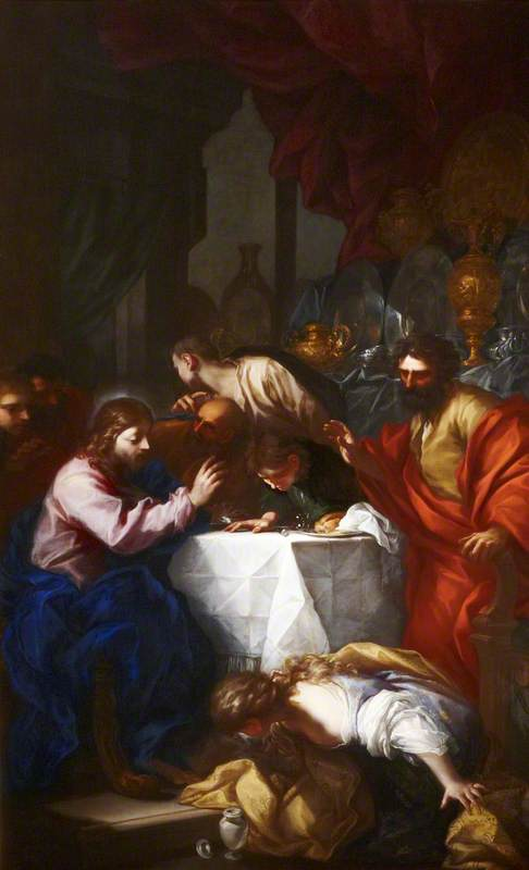 Christ and Mary Magdalene in the House of Simon