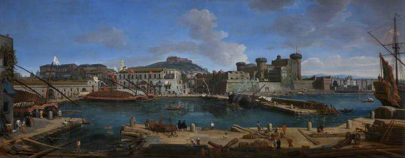 The Port of Naples: 'La Darsena delle Galere'