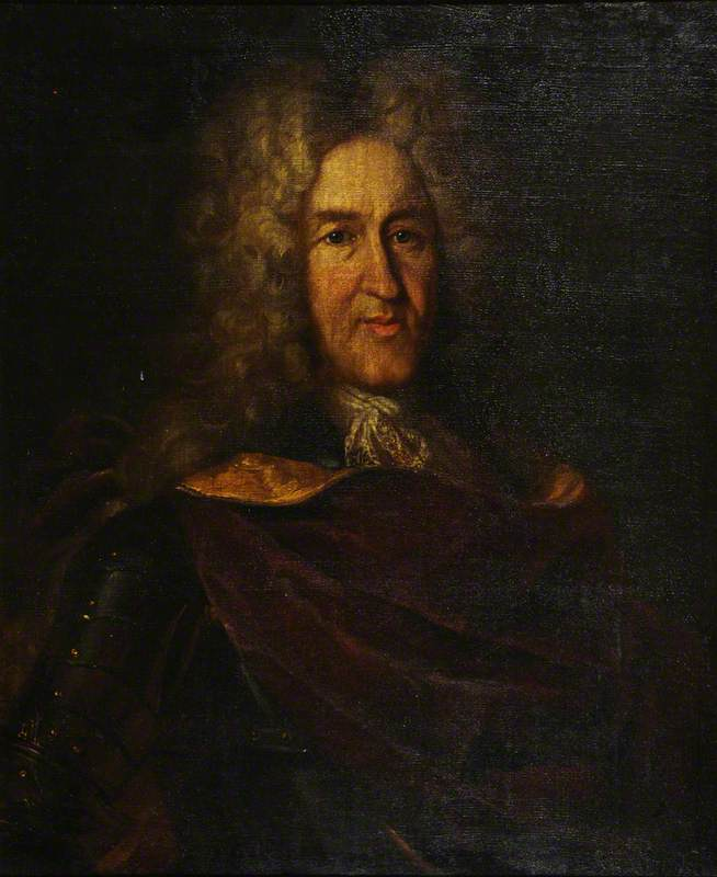 Portrait of an Unknown Gentleman in Armour
