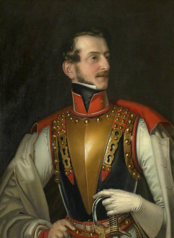 Charles Bedingfeld (1803–1870), in the Uniform of the 16th Austrian Cuirassiers