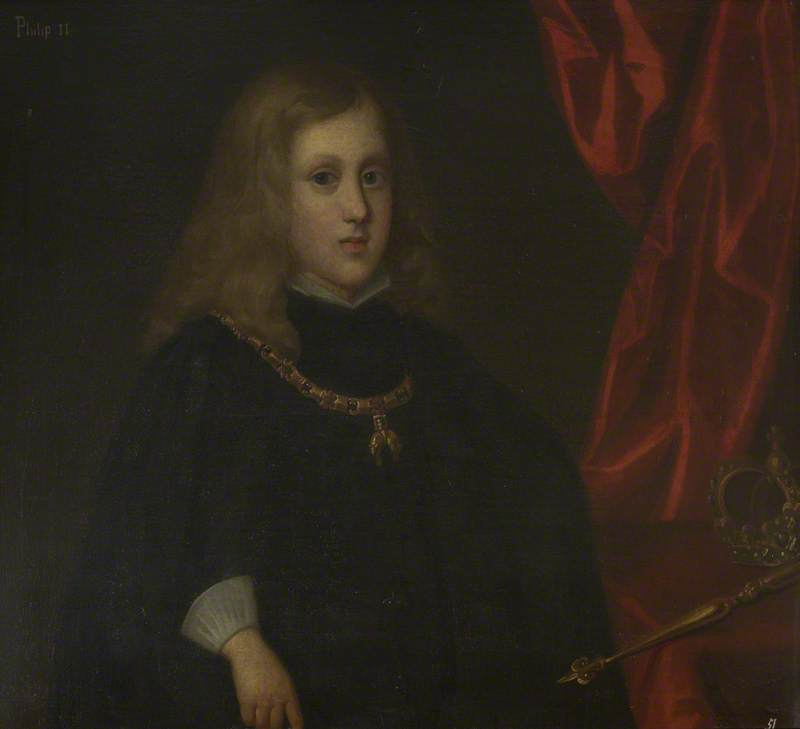 Charles II (1661–1700), King of Spain, as a Child