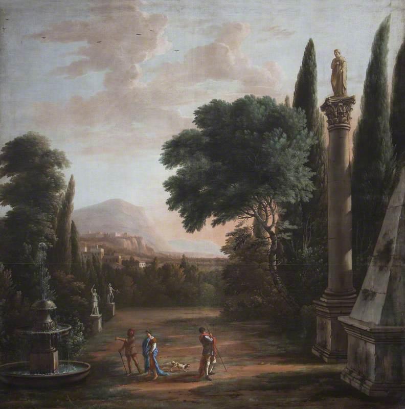 Figures in a Classical Garden
