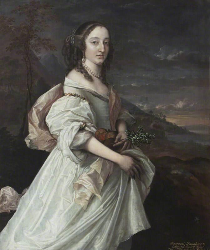 Margaret Onley (1642–1675), Mrs George Vernon