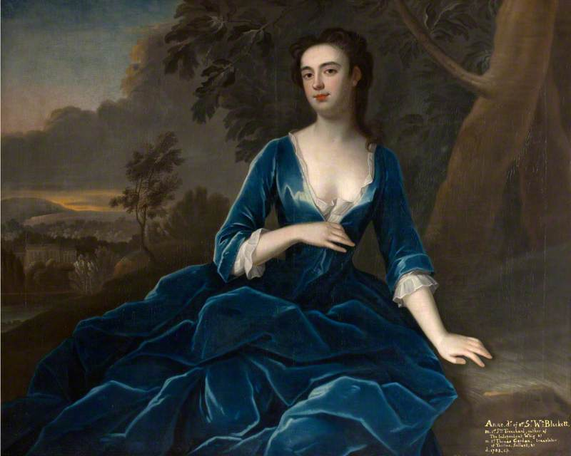 Anne Blackett (d.1783), Mrs John Trenchard, Later Mrs Thomas Gordon