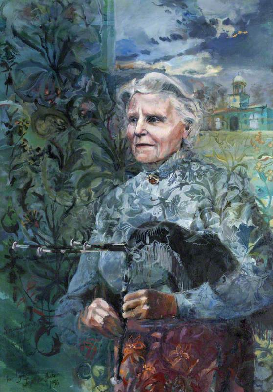 Mrs Patricia Jennings (b.1915), on Her 80th Birthday, March 1995