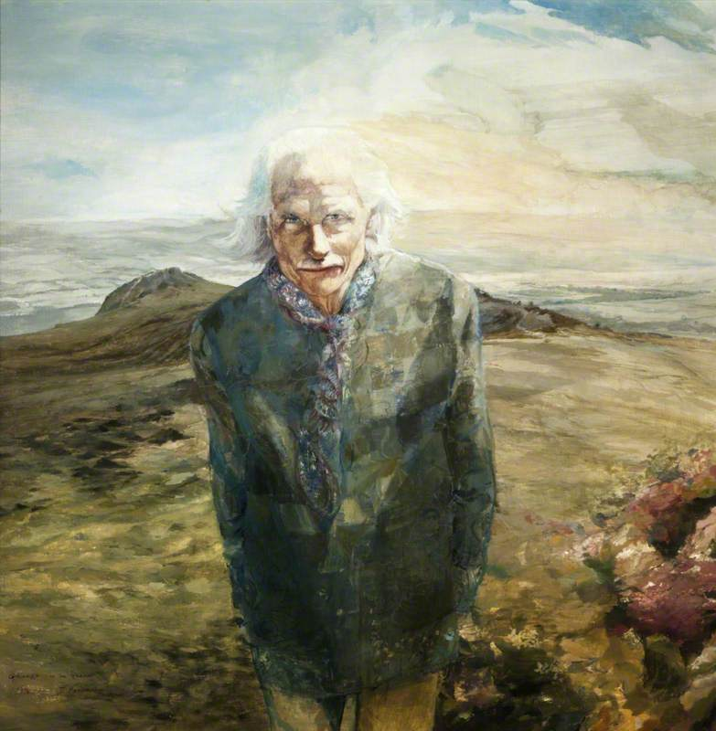 Sir George Trevelyan (1906–1996), 4th Bt, on the Wrekin