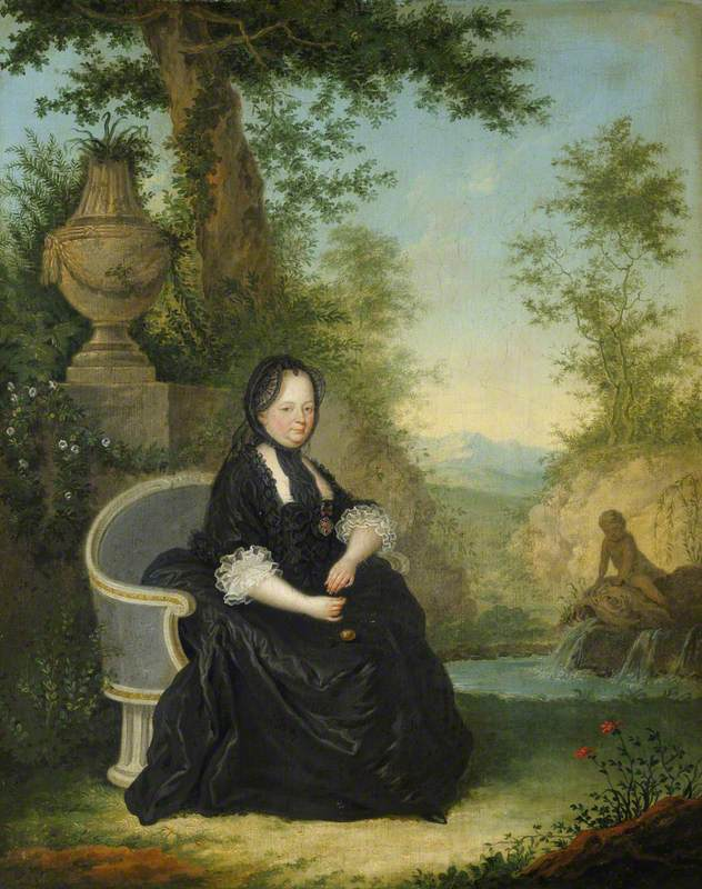 The Empress Maria Theresa (1717–1780), as a Widow