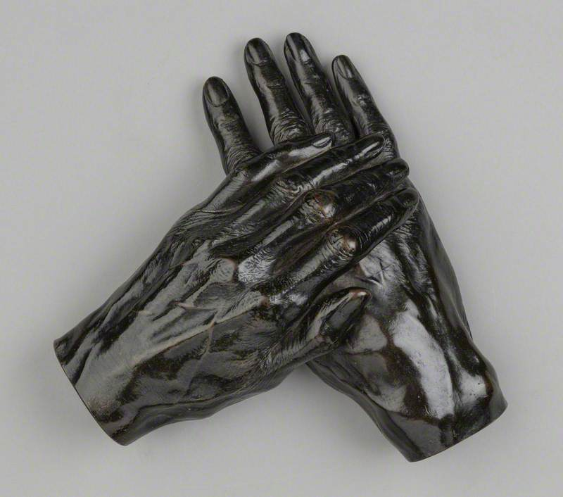 Hands of Thomas Carlyle (1795–1881)