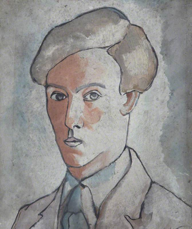 Head Study of an Unknown Youth