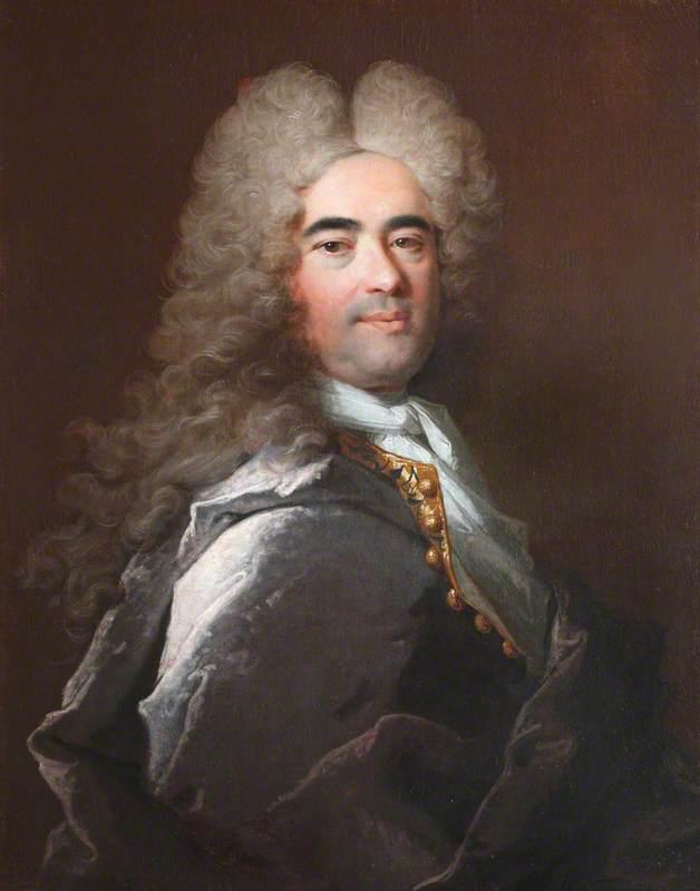 Portrait of an Unknown Man in Grey
