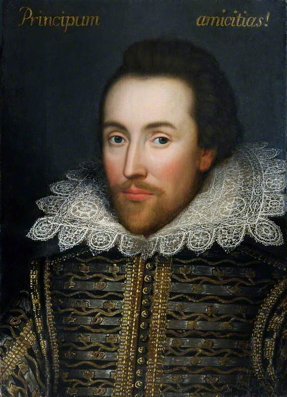 The Cobbe Portrait of William Shakespeare (1564–1616)