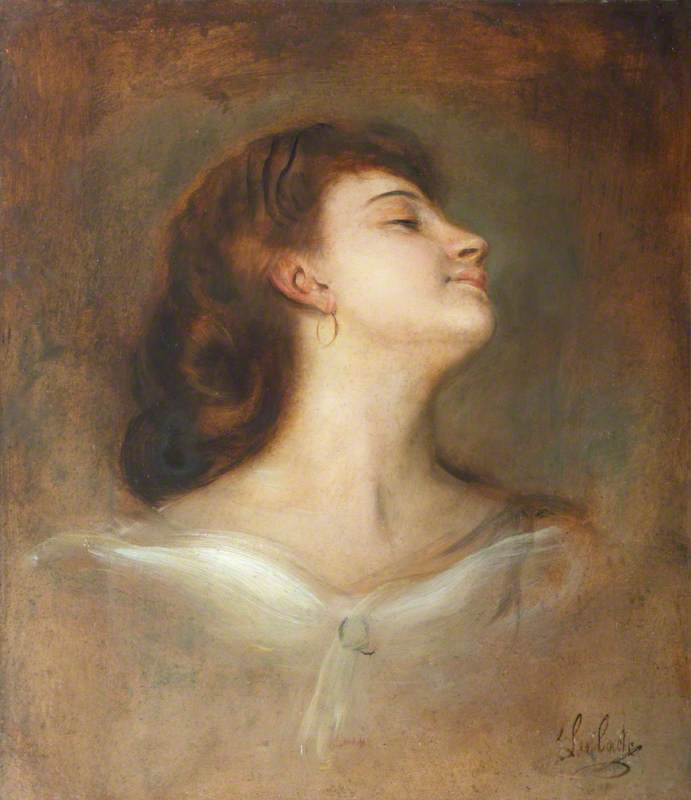 Study of the Head of an Unknown Lady