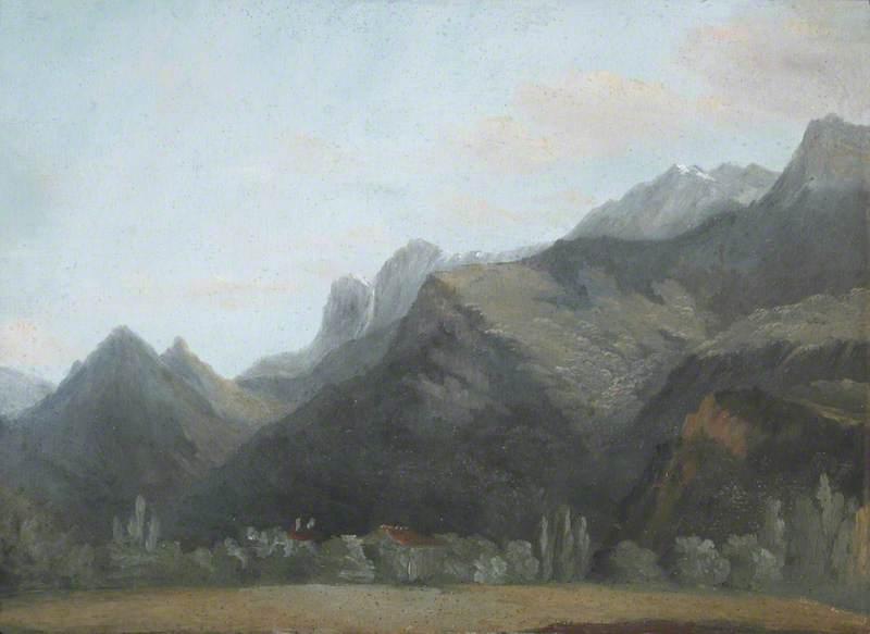 Mountainous Wooded Landscape