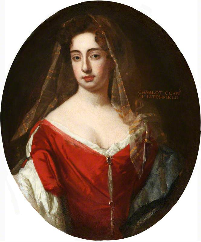 Charlotte FitzRoy (1664–1718), Countess of Lichfield