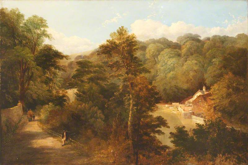 View of the Old Mill and Prebend's Bridge, Durham