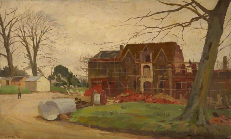 The Rebuilding of Hinton Ampner: The South Front