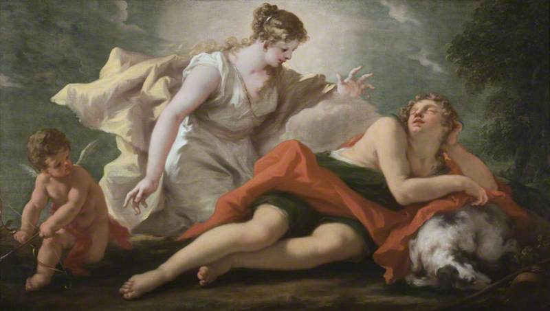 Diana, Selene and Endymion
