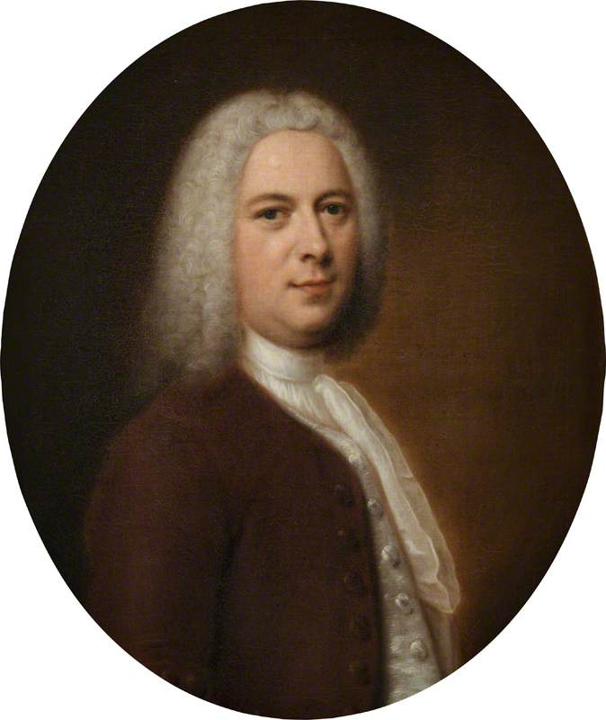 Supposed Portrait of George Frideric Handel (1685–1759), Aged 52