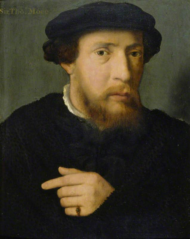 Portrait of a Man in Black with an Emerald Ring
