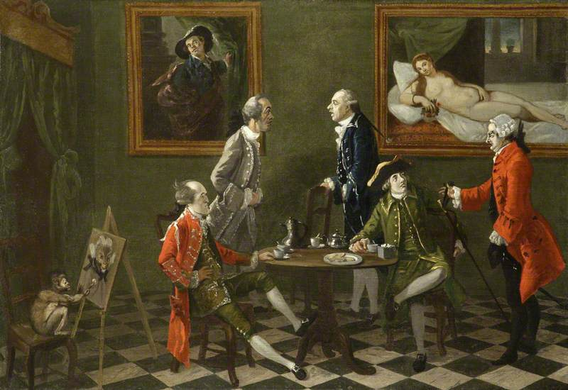 The Cognoscenti: Including Captain Walcot, Mr Apthorpe and Thomas Patch (1725–1782)
