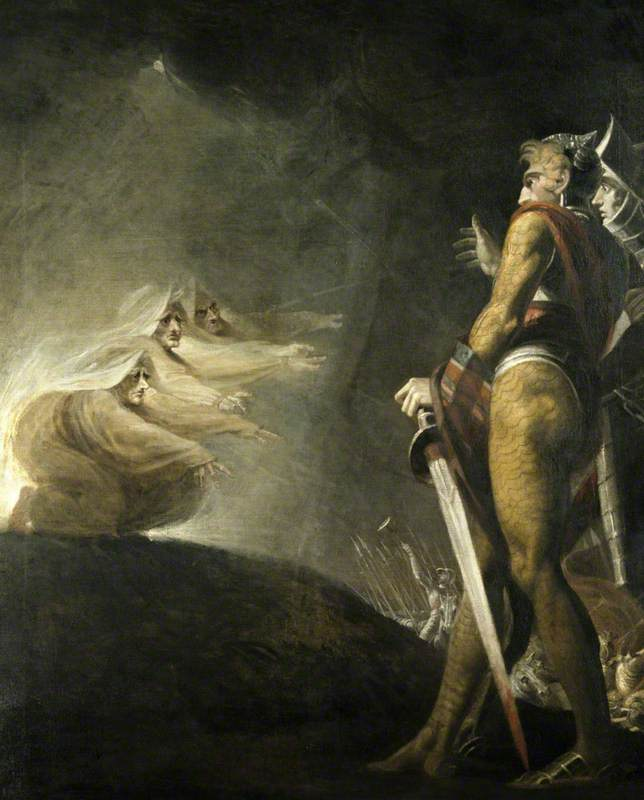 Macbeth, Banquo and the Witches