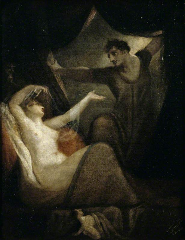 A Scene from 'The Wife of Bath's Tale'