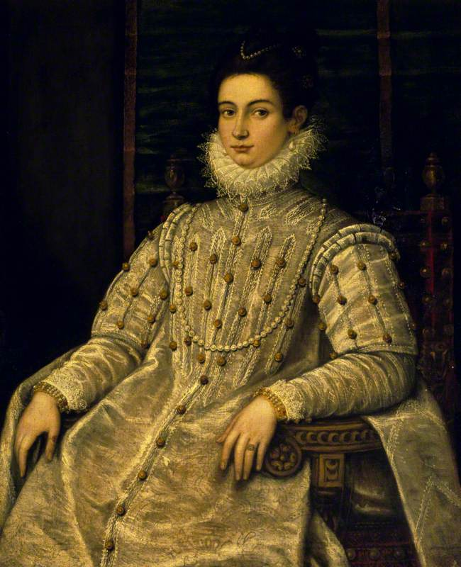 Portrait of an Unknown Noblewoman Seated in a Chair